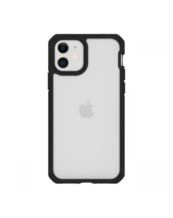 Feronia Bio - Pure DropSafe Recyclable Case Clear/Black for iPhone 11 - This Case Plants 1 Tree