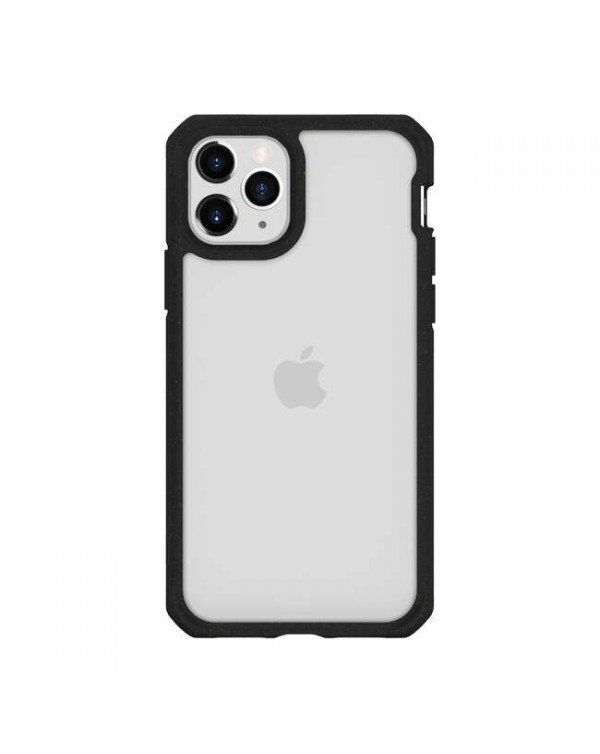 Feronia Bio - Pure DropSafe Recyclable Case Clear/Black for iPhone 11 Pro - This Case Plants 1 Tree