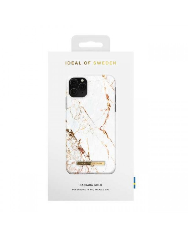 Ideal of Sweden - Fashion Case Carrara Gold for iPhone 11 Pro Max/XS Max