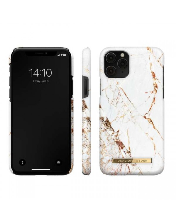 Ideal of Sweden - Fashion Case Carrara Gold for iPhone 11 Pro/XS/X