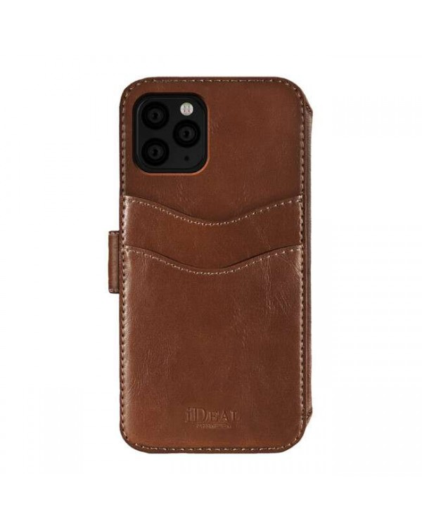 Ideal of Sweden - STHLM Wallet Case Brown for iPhone 11 Pro/XS/X