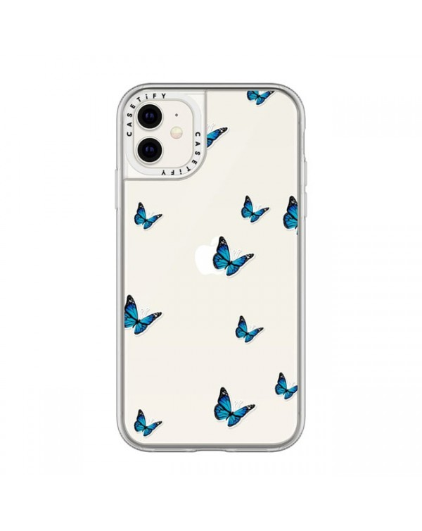 Casetify - Grip Case Wild and Blue Stickers for iPhone 11