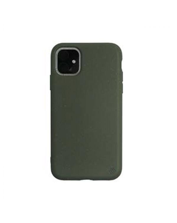 iPhone 11/XR Uunique Green (Cucumber) Nutrisiti Eco Back Case