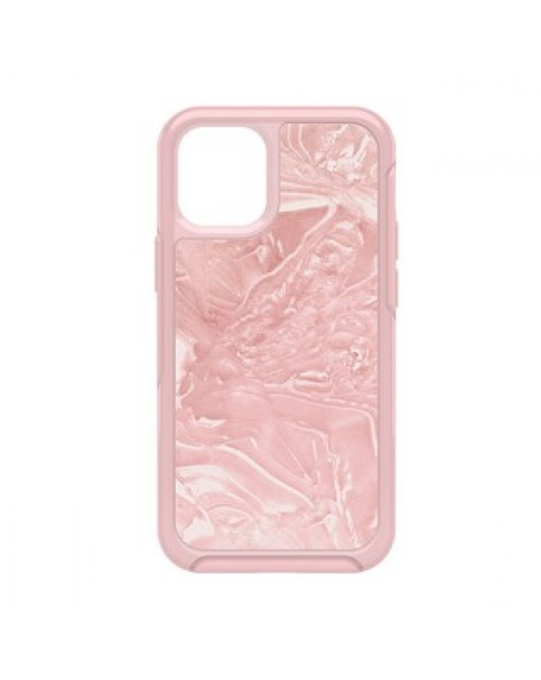 iPhone 12 Mini Otterbox Pink/Pink (Shell Shocked) Symmetry Clear Series Case