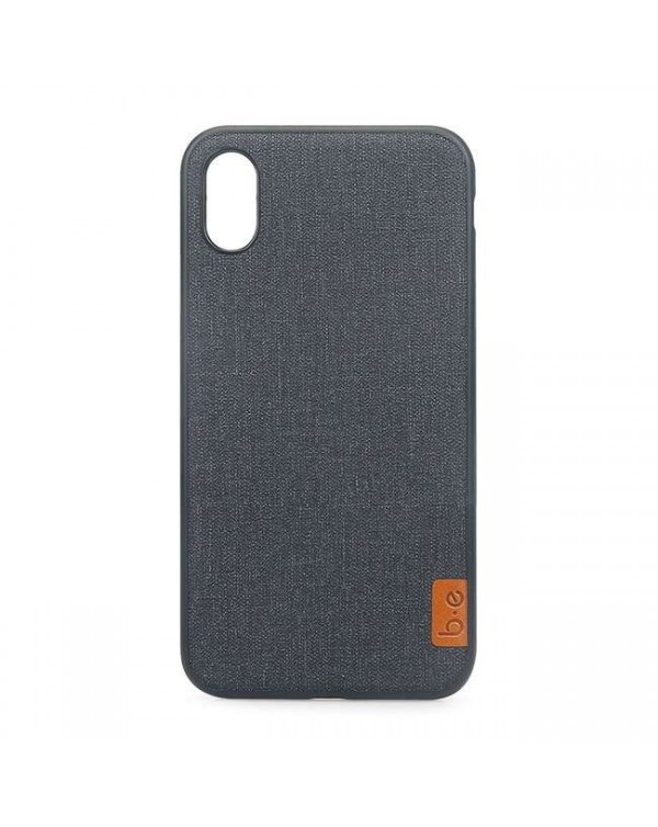 Blu Element - Chic Collection Case Dark Grey for iPhone XS Max