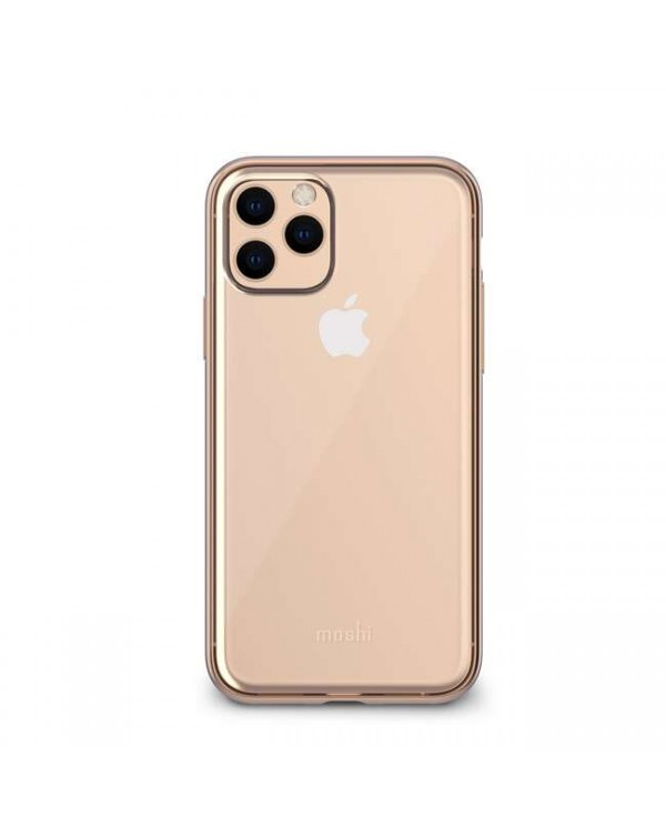 Moshi - Vitros Clear Case Gold for iPhone 11 Pro
