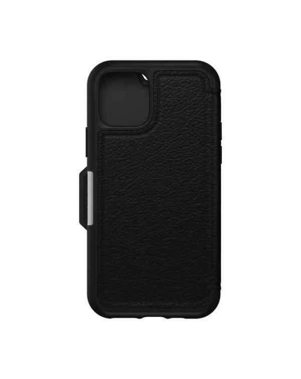 Otterbox - Strada Folio Leather Case Shadow (Black) for iPhone 11 Pro
