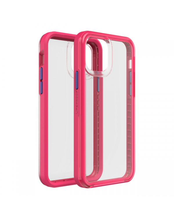 LifeProof - Slam Dropproof Case Hopscotch (Windsurf Pink/Victoria Blue/Clear) for iPhone 11 Pro