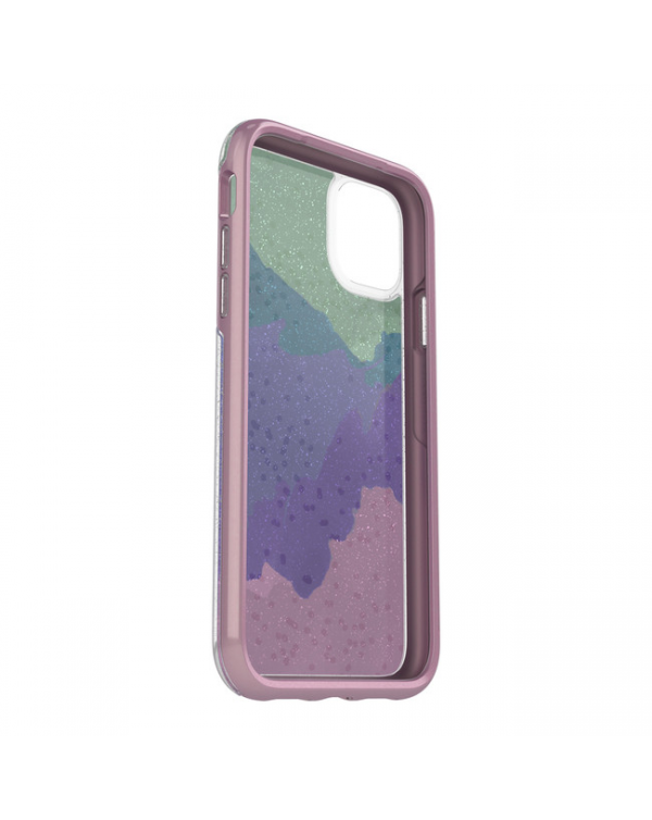 Otterbox - Symmetry Clear Protective Case Wish Way Now? (Silver Flake/Pink Matter) for iPhone 11 Pro Max