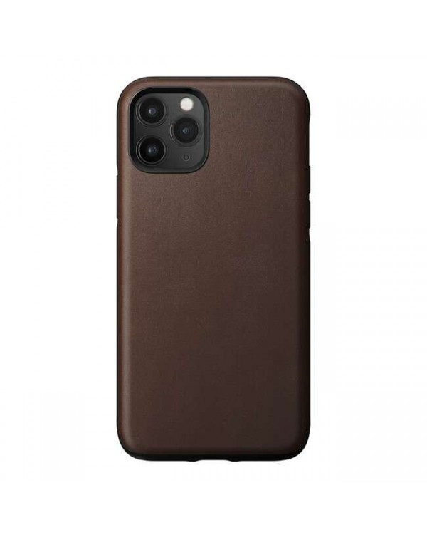 Nomad - Rugged Leather Case Rustic Brown for iPhone 11 Pro