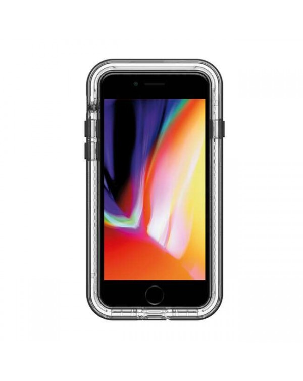 LifeProof - Next Dropproof Case Black Crystal (Clear/Black) for iPhone SE 2020/8/7