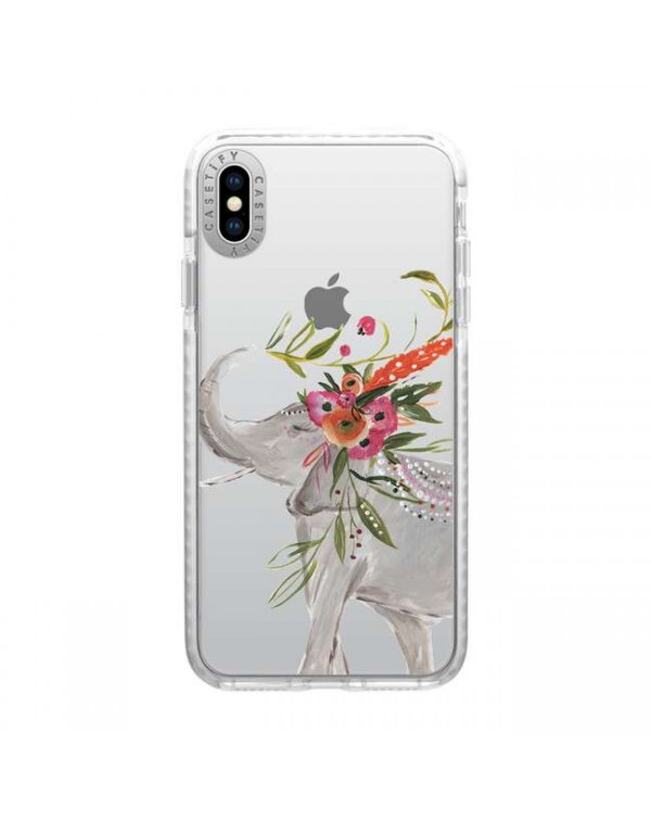 Casetify - Impact Case Boho Elephant for iPhone XS Max