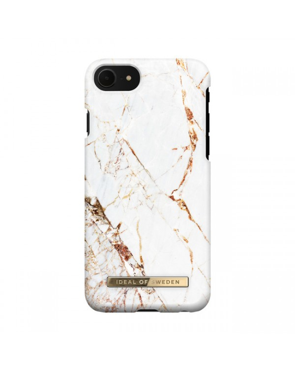 Ideal of Sweden - Fashion Case Carrara Gold for iPhone SE/8/7/6s/6