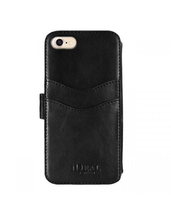 Ideal of Sweden - STHLM Wallet Case Black for iPhone SE/8/7/6s/6