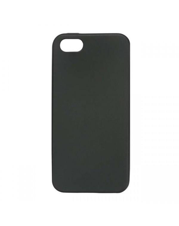 Blu Element - Gel Skin Case Black for iPhone 8 Plus/7 Plus/6S Plus/6 Plus