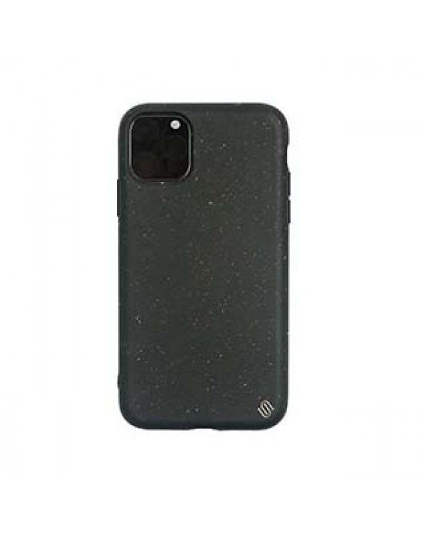 iPhone 11 Pro Uunique Black (Black Olive) Nutrisiti Eco Back Case