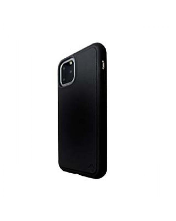 iPhone 11 Pro Uunique Black (Black Olive) Nutrisiti Eco Leather Back Case