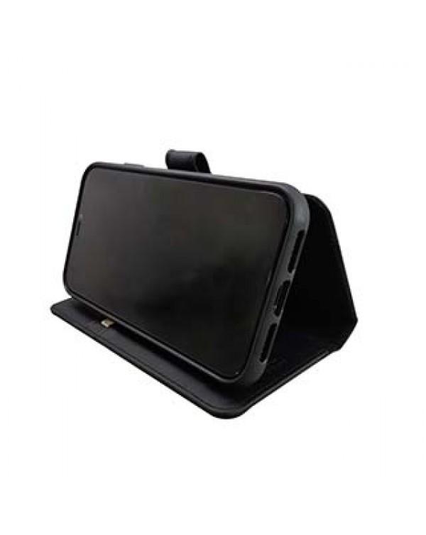 iPhone 11 Pro Uunique Black Olive Nutrisiti 2-in-1 Eco Leather Folio & Detachable Back Case