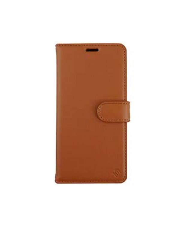 iPhone 11 Pro Uunique Brown/Beige Nutrisiti 2-in-1 Eco Leather Folio & Detachable Back Case