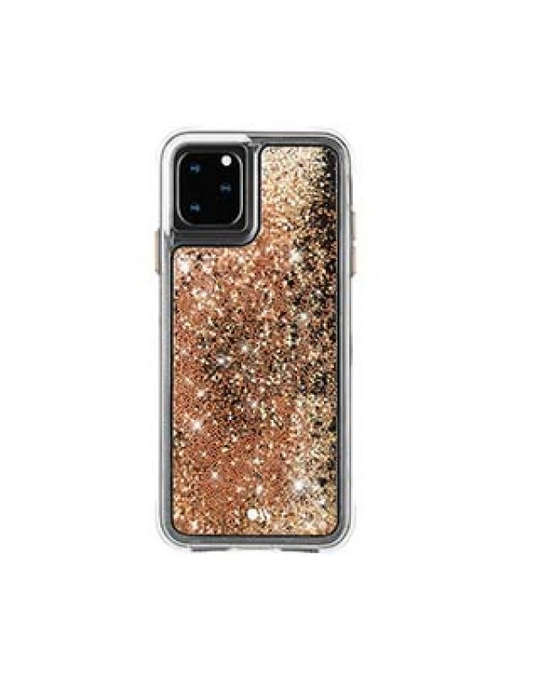iPhone 11 Pro Case-Mate Gold Waterfall Case
