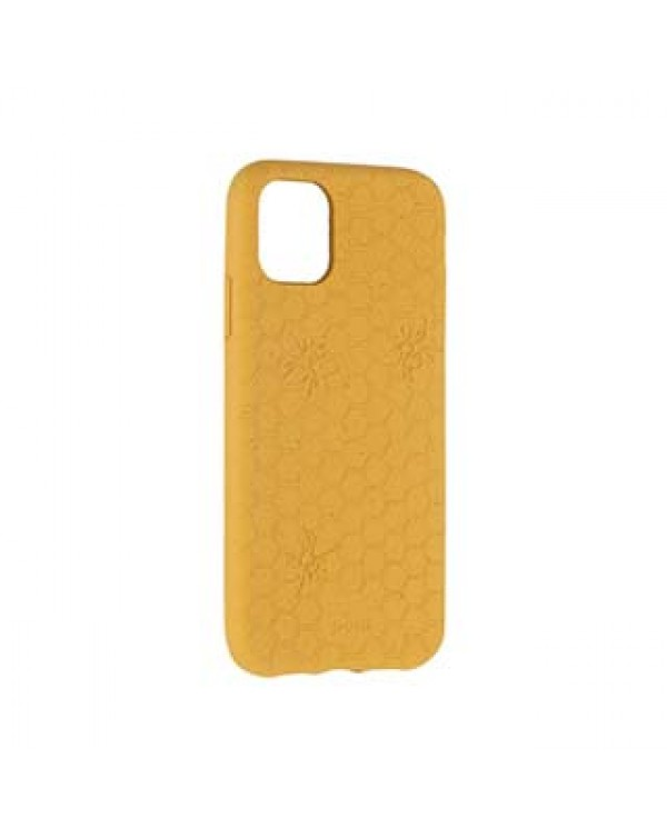 iPhone 11/XR Pela Yellow Honey Bee Edition Compostable Eco-Friendly Protective Case