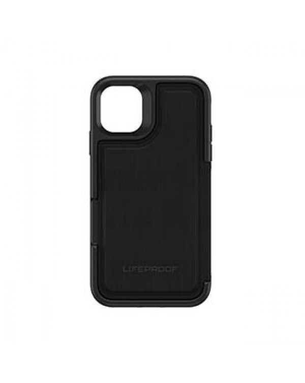 iPhone 11/XR LifeProof Black (Dark Knight) Flip Series Case