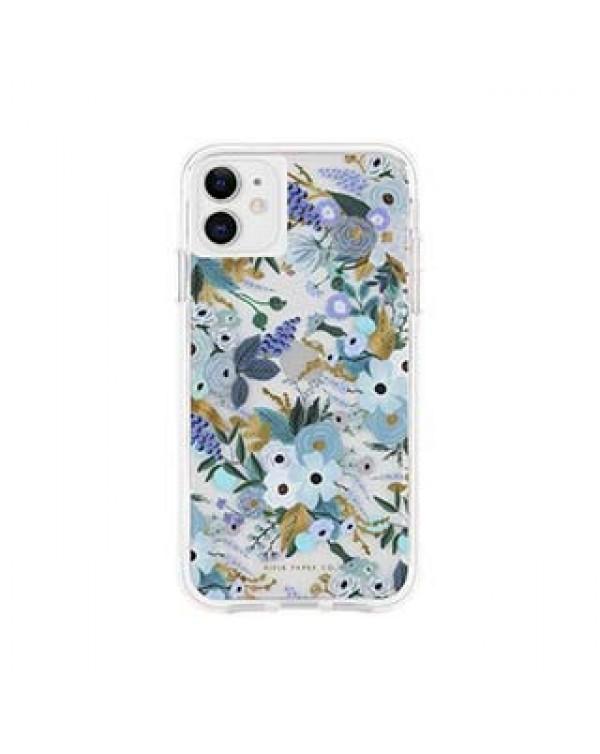 iPhone 11/XR Rifle Paper Blue Garden Party Case
