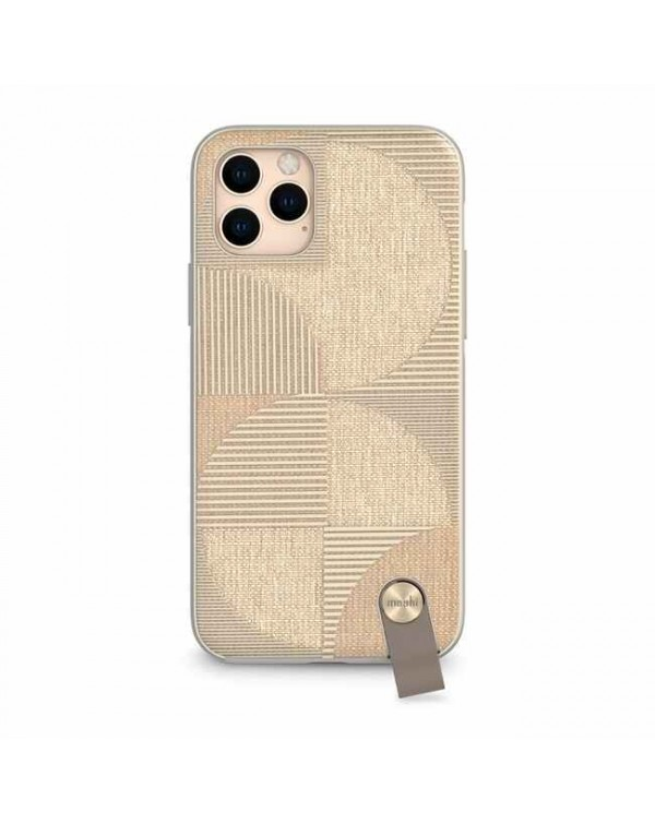 Moshi - Altra Strap Case Beige for iPhone 11 Pro