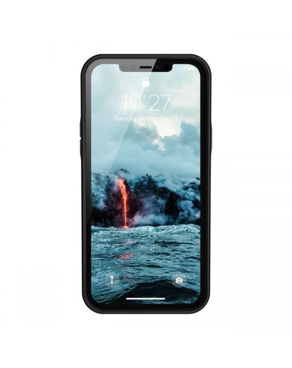 UAG - Outback Bio Rugged Case Black for iPhone 12/12 Pro