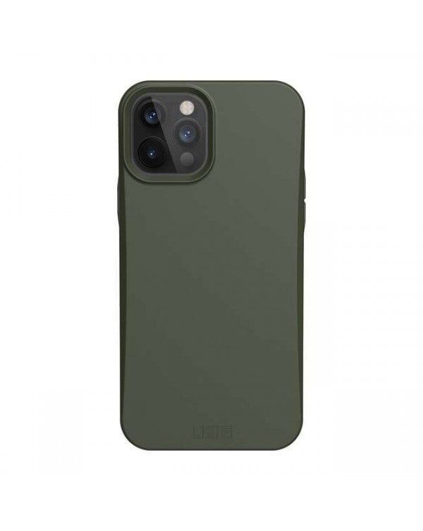 UAG - Outback Bio Rugged Case Olive for iPhone 12/12 Pro