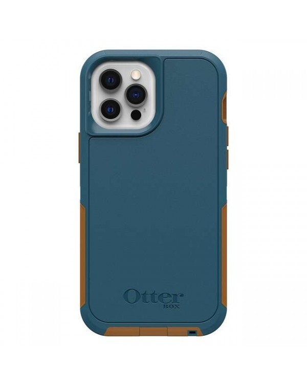 Otterbox - Defender XT with MagSafe Protective Case Orange for iPhone 12 Pro Max