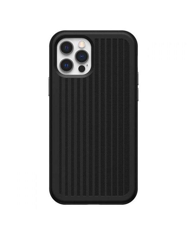 Otterbox - Easy Grip Gaming Case Black for iPhone 12/12 Pro