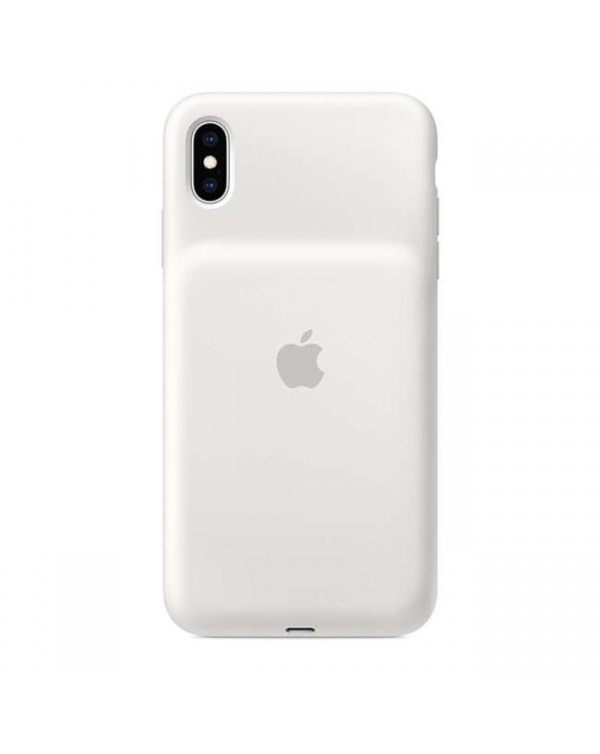 Apple - Smart Battery Case White for iPhone XS Max