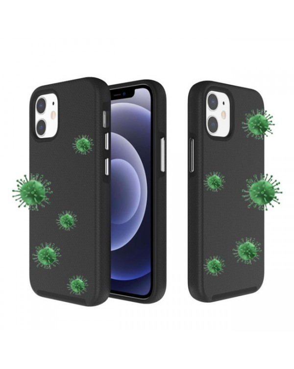 Blu Element - Antimicrobial Armour 2X Case Black for iPhone 12 mini