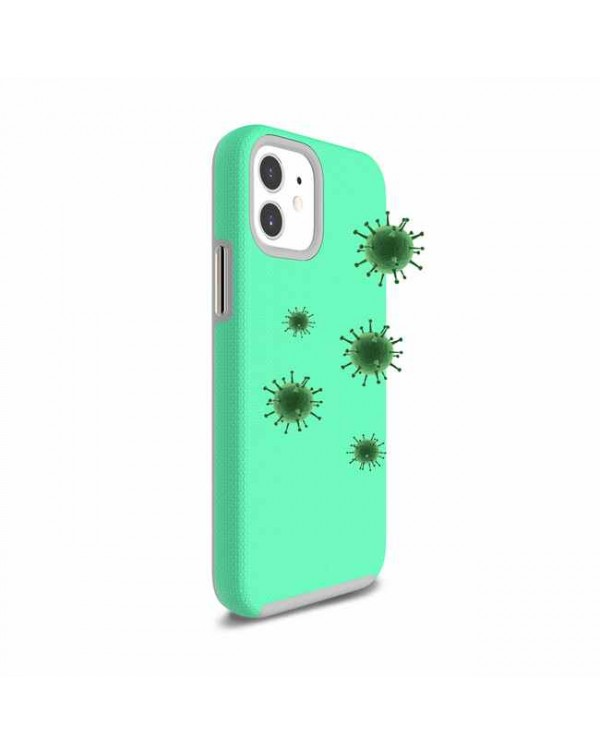 Blu Element - Antimicrobial Armour 2X Case Teal for iPhone 12 mini