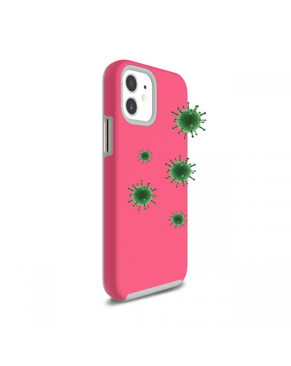 Blu Element - Antimicrobial Armour 2X Case Pink for iPhone 12 mini