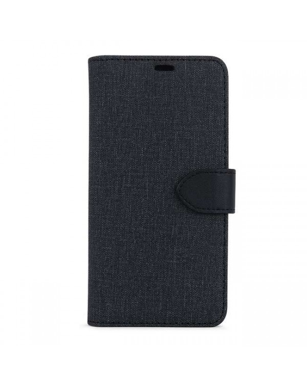 Blu Element - 2 in 1 Folio Case Black/Black for iPhone 12 mini