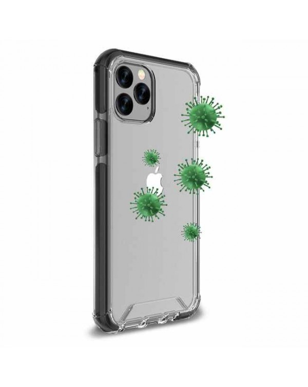 Blu Element - Antimicrobial DropZone Rugged Case Black for iPhone 12 Pro Max