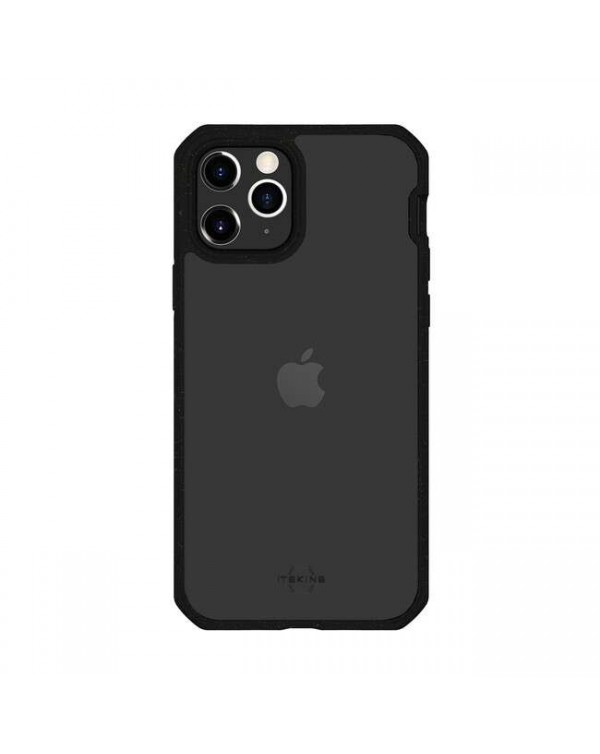 Feronia Bio - Pure DropSafe Biodegradable Case Clear/Black for iPhone 12/12 Pro - This Case Plants 1 Tree
