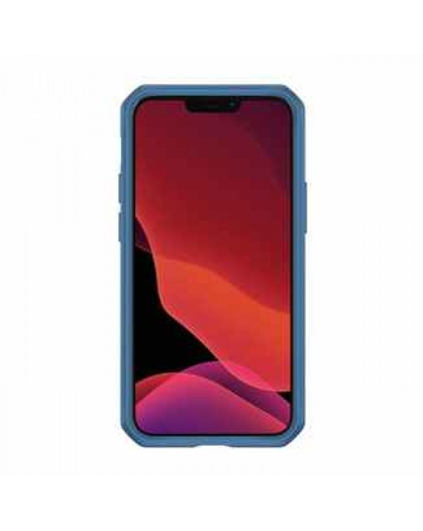 Feronia Bio - Terra DropSafe Biodegradable Case Blue for iPhone 12/12 Pro - This Case Plants 1 Tree