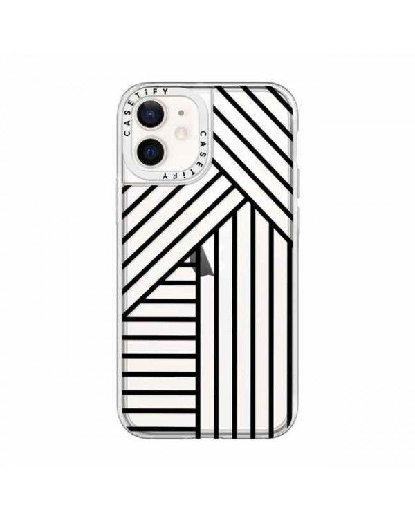 Casetify - Grip Case Stripes for iPhone 12 mini