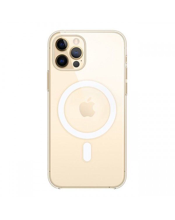 Apple - Clear Case with MagSafe for iPhone 12/12 Pro