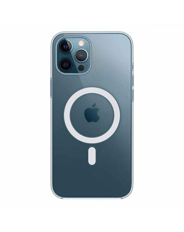 Apple - Clear Case with MagSafe for iPhone 12 Pro Max
