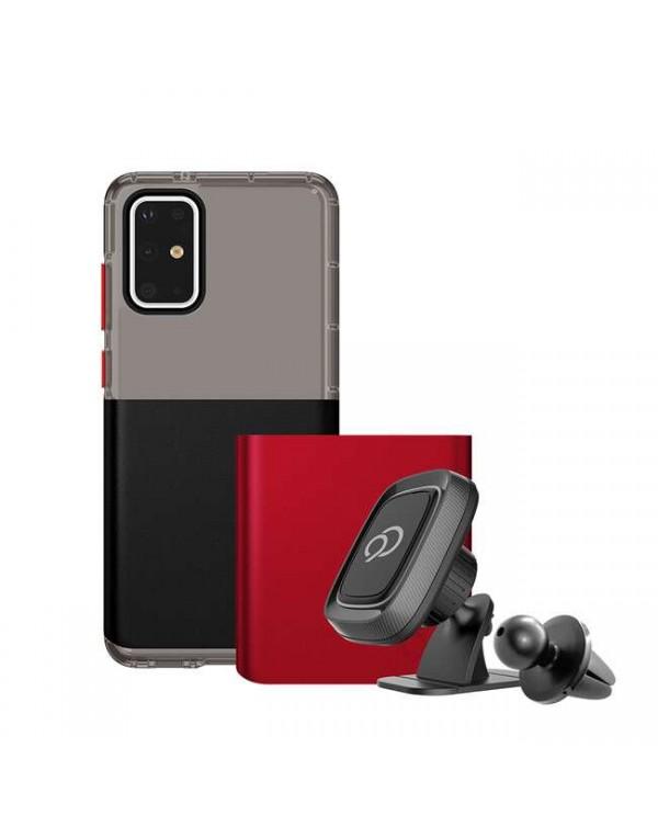 Nimbus9 - Ghost 2 Pro Pitch Black/Crimson for Samsung Galaxy S20