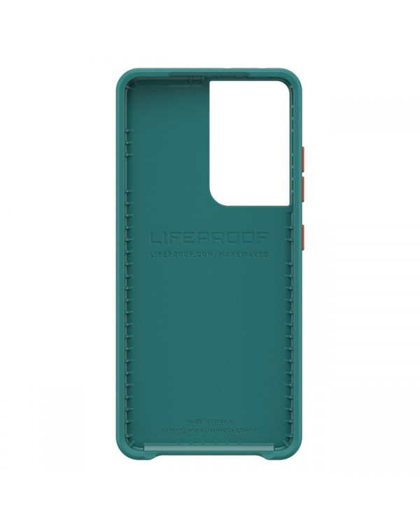 LifeProof - Wake Dropproof Eco Friendly Case Black for Samsung Galaxy S21 Ultra