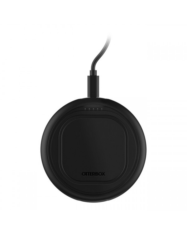Otterbox - OtterSpot Qi Wireless Charging Base 36W with 1 Charging Battery Black