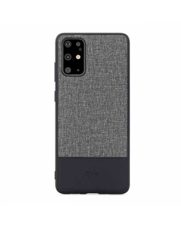Blu Element - Chic Collection Case Gray/Black for Samsung Galaxy S20
