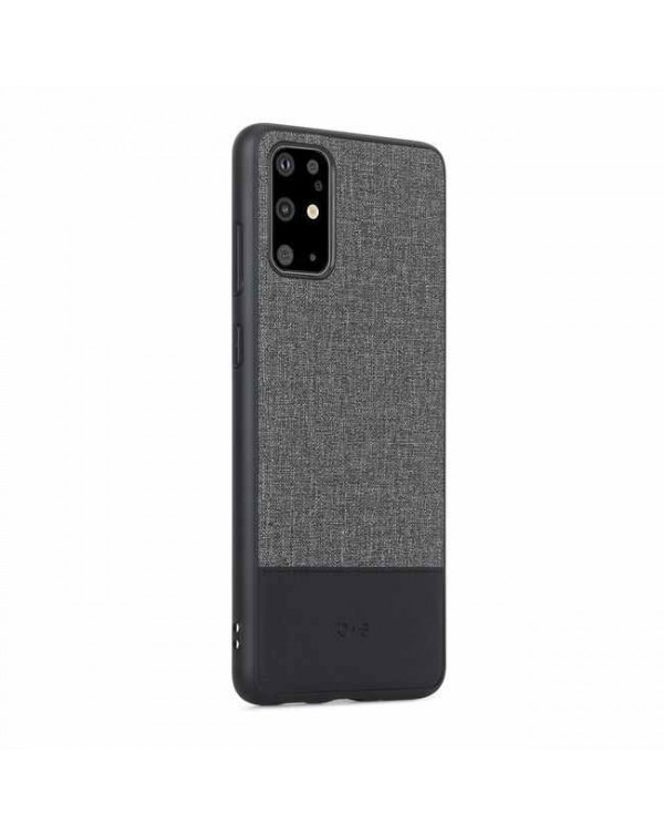 Blu Element - Chic Collection Case Gray/Black for Samsung Galaxy S20+