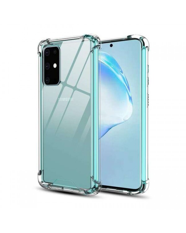 Blu Element - DropZone Rugged Case Clear for Samsung Galaxy S20+