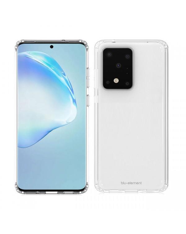 Blu Element - Clear Shield Case Clear for Samsung Galaxy S20 Ultra
